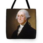 George Washington Tote Bag by Gilbert Stuart