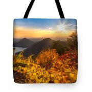 Golden Hour Tote Bag by Debra and Dave Vanderlaan