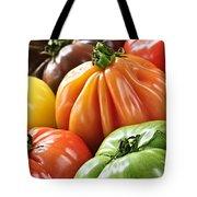 Heirloom Tomatoes Tote Bag by Elena Elisseeva