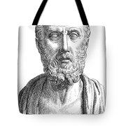 HIPPOCRATES (c460-c377 B.C.) Tote Bag by Granger