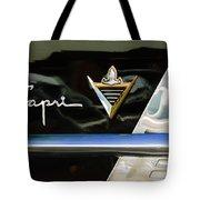 Lincoln Capri Emblem Tote Bag by Jill Reger