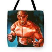 Mike Tyson Tote Bag by Paul  Meijering