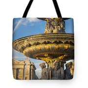Paris Fountain Tote Bag by Brian Jannsen