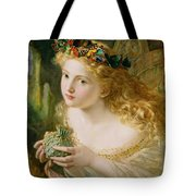 Take The Fair Face Of Woman Tote Bag by Sophie Anderson