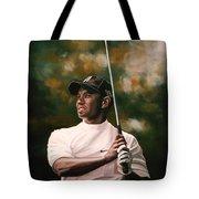 Tiger Woods  Tote Bag by Paul Meijering
