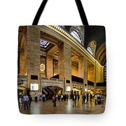 360 Panorama of Grand Central Station Tote Bag by David Smith