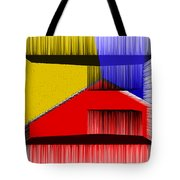 3D Abstract 1 Tote Bag by Angelina Vick
