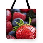 Assorted Fresh Berries Tote Bag by Elena Elisseeva