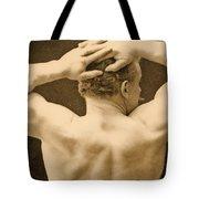Eugen Sandow Tote Bag by George Steckel