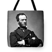 General William Tecumseh Sherman Tote Bag by War Is Hell Store