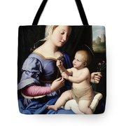 Madonna And Child Tote Bag by Il Sassoferrato