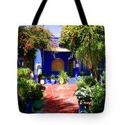 Majorelle Garden Marrakesh Morocco Tote Bag by Ralph A  Ledergerber-Photography