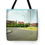 Modern Road Tote Bag by Tom Gowanlock