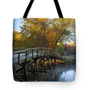 Old North Bridge Concord Tote Bag by Brian Jannsen