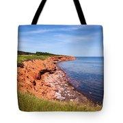 Prince Edward Island Coastline Tote Bag by Elena Elisseeva