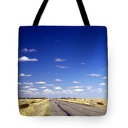 Road Ahead Tote Bag by Tim Hester
