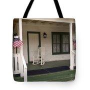Ryckman House In Melbourne Beach Florida Tote Bag by Allan  Hughes