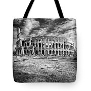 The Majestic Coliseum - Rome Tote Bag by Luciano Mortula