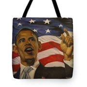 44th President of Change  Tote Bag by Jamie Preston