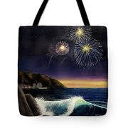 4th On The Shore Tote Bag by Jack Malloch
