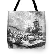 Boston: Evacuation, 1776 Tote Bag by Granger