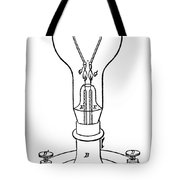 EDISON LAMP, 19th CENTURY Tote Bag by Granger