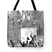 George IIi Statue, 1776 Tote Bag by Granger