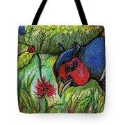 In My Magic Garden Tote Bag by Angel  Tarantella