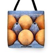 Organic Eggs Tote Bag by George Atsametakis
