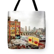 5 Pointz In Itz Prime Tote Bag by Nishanth Gopinathan