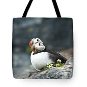 Puffins Tote Bag by Heiko Koehrer-Wagner