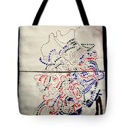 Sign Tote Bag by Gloria Ssali