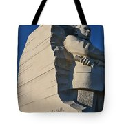 Martin Luther King Jr. Memorial Tote Bag by Allen Beatty