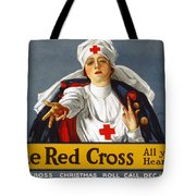 Red Cross Poster, 1917 Tote Bag by Granger