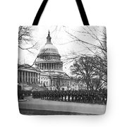 63rd Infantry Ready In Dc Tote Bag by Underwood Archives