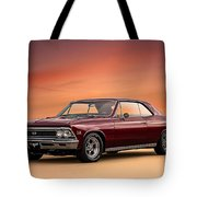 '66 Chevelle Tote Bag by Douglas Pittman