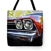 68 Chevelle  Color Tote Bag by Cheryl Young