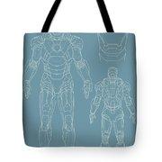 Iron Man Tote Bag by Caio Caldas