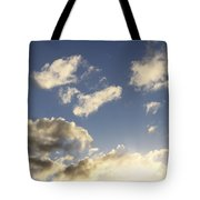 Sky Tote Bag by Les Cunliffe