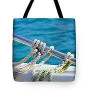 the ropes Tote Bag by Laura  Fasulo