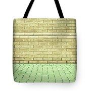 Brick Wall Tote Bag by Tom Gowanlock