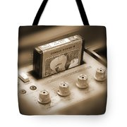 8-track Tape Player Tote Bag by Mike McGlothlen