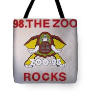 98.the Zoo Rocks Tote Bag by Donna Wilson