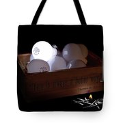 A Better Way Still Life - Thomas Edison Tote Bag by Tom Mc Nemar