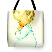 A Childs Prayer Tote Bag by Charlotte Byj