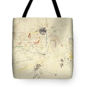 A Dream In Absinthe, 1890 Tote Bag by Charles Edward Conder