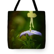 A Fairy In The Garden Tote Bag by Rebecca Sherman