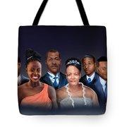 A Family Portrait Tote Bag by Reggie Duffie