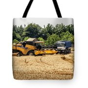 A French Harvest Tote Bag by Georgia Fowler