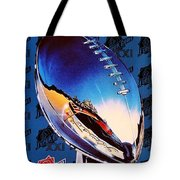 A Giant Victory Tote Bag by Benjamin Yeager